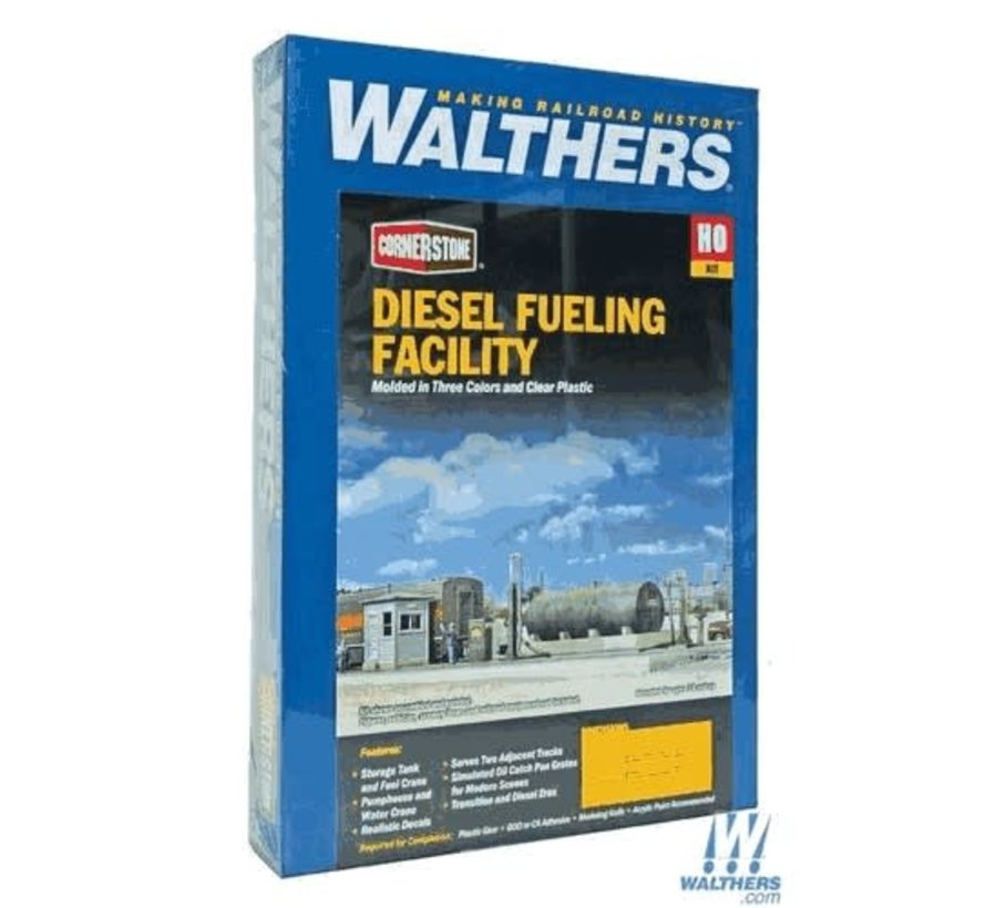 Walthers : HO Diesel Fueling Facility