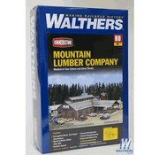 WALTHERS WALT-933-3058 - Walthers : HO Mountain Lumber Sawmill