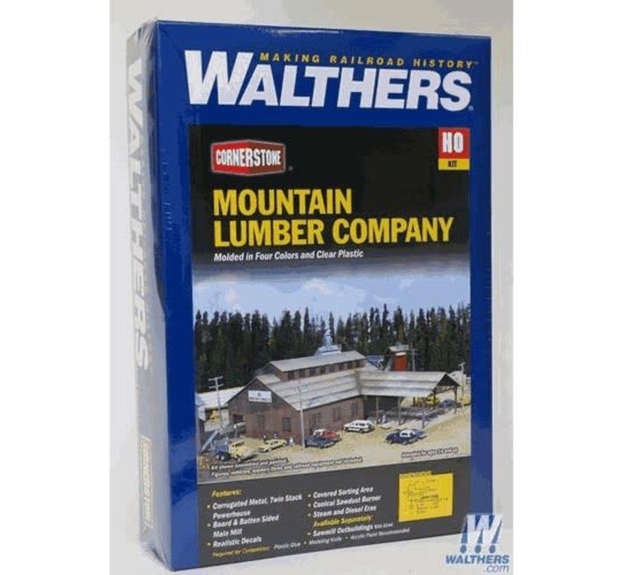 Walthers : HO Mountain Lumber Sawmill