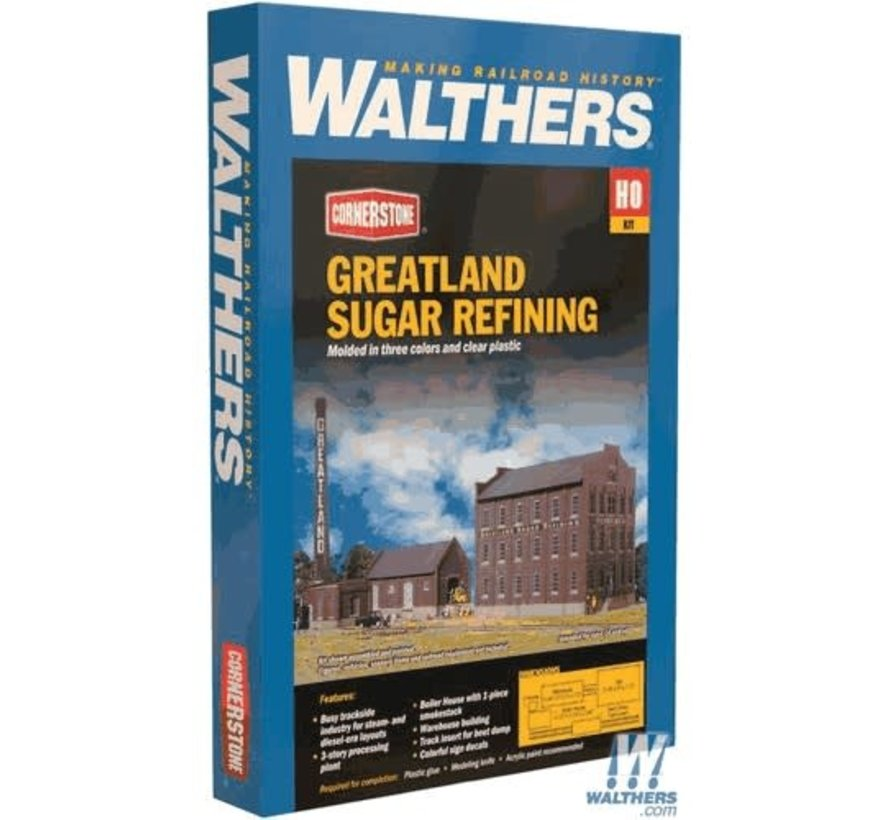 Walthers : HO Greatland Sugar Refining
