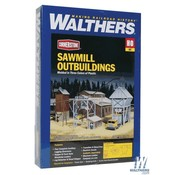 WALTHERS WALT-933-3144 - Walthers : HO Sawmill Outbuildings 4/