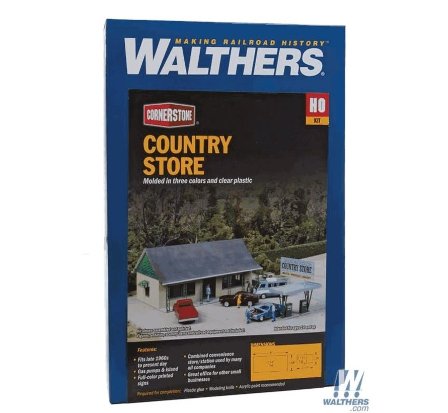 Walthers : HO Country Store Kit