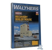 WALTHERS WALT-933-3901 - Walthers : HO Recovery Boiler House Kit