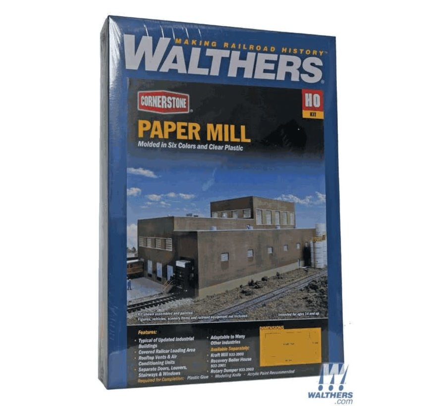 Walthers : HO Superior Paper Paper Mill