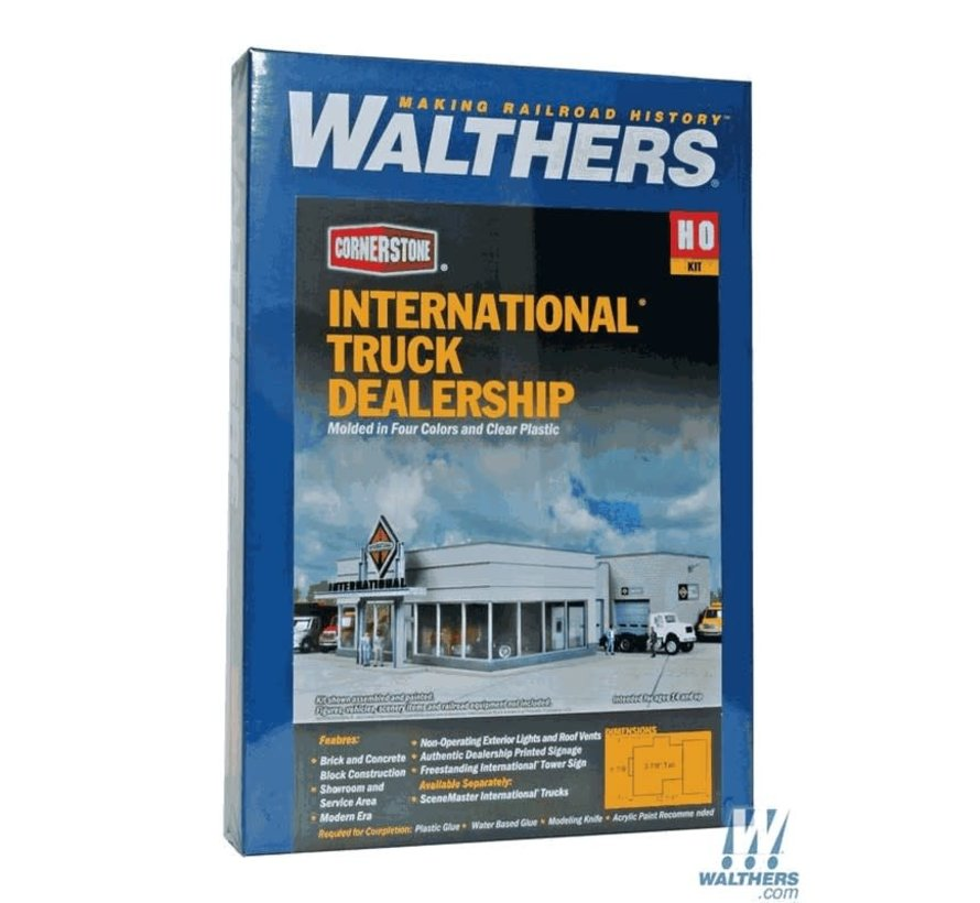 Walthers : HO International Truck Dealer