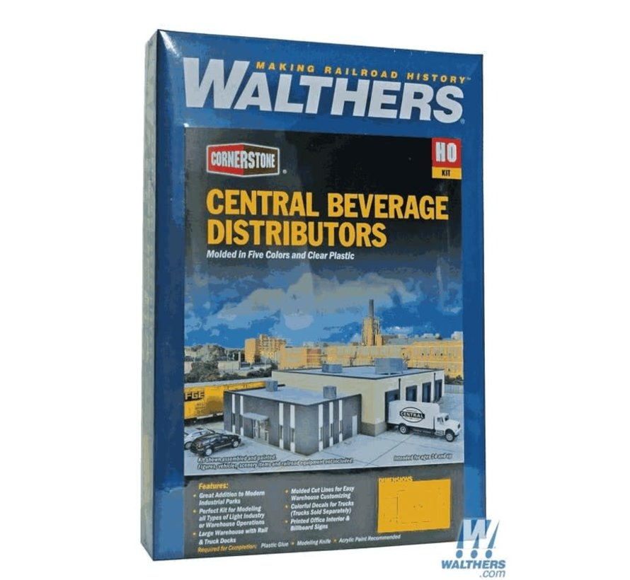 Walthers : HO Central Beverage Distrib