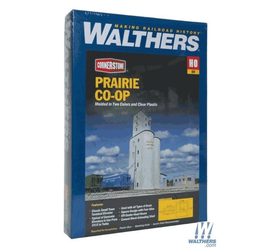 Walthers : HO Prairie CO-OP Elevator
