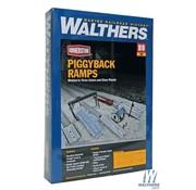 WALTHERS WALT-933-4048 - Walthers : HO Piggyback Ramps Kit