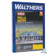 WALTHERS WALT-933-4054 - Walthers : HO Pella Depot Kit