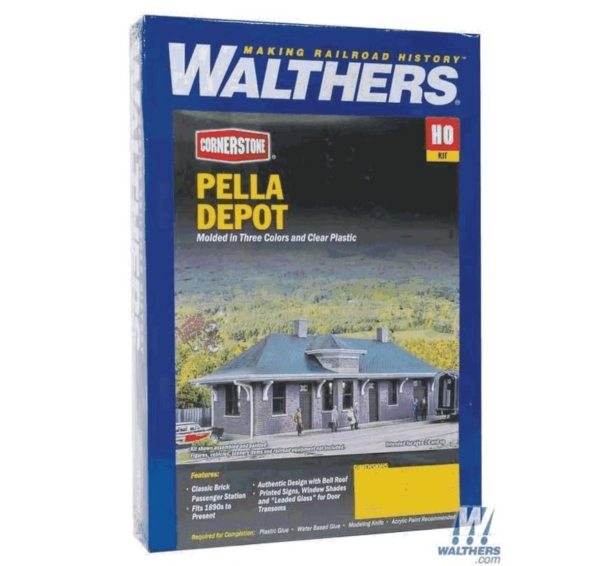 Walthers : HO Pella Depot Kit
