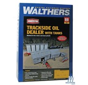 WALTHERS WALT-933-4059 - Walthers : HO Trksde Oil Dealer w/Tanks
