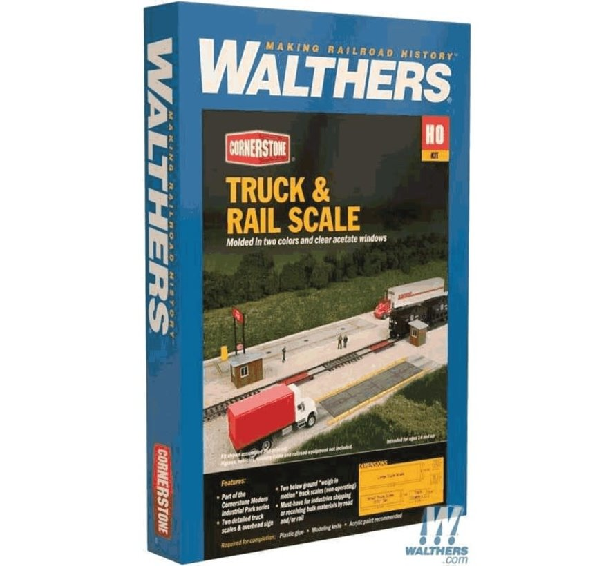 Walthers : HO Truck Scale w/Weigh House