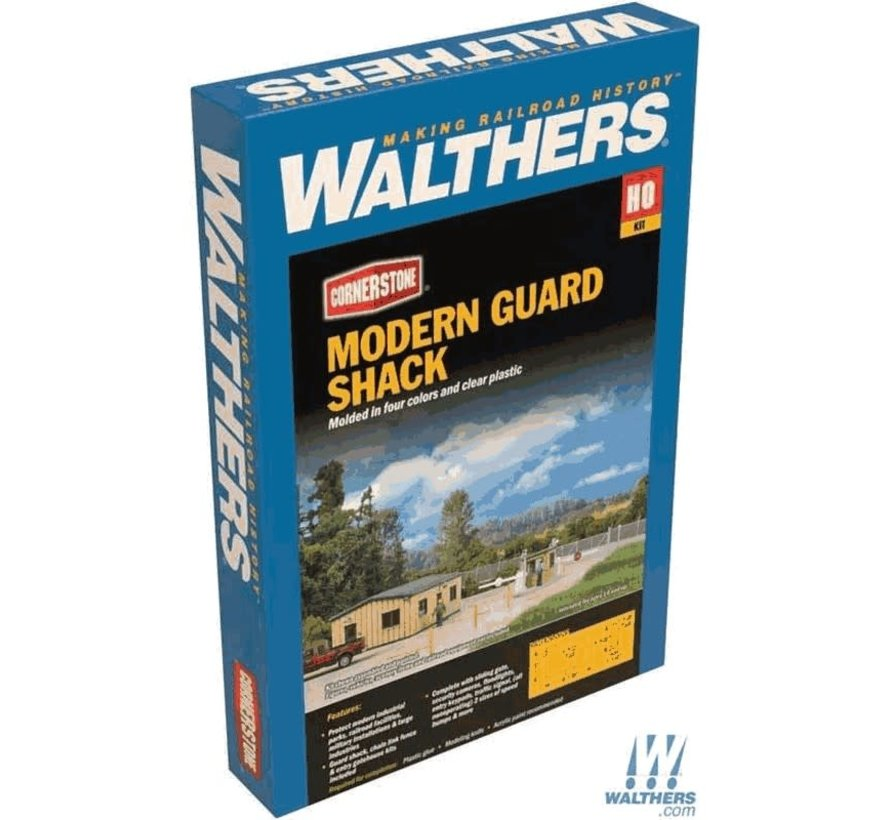 Walthers : HO Modern Guard Shack Kit
