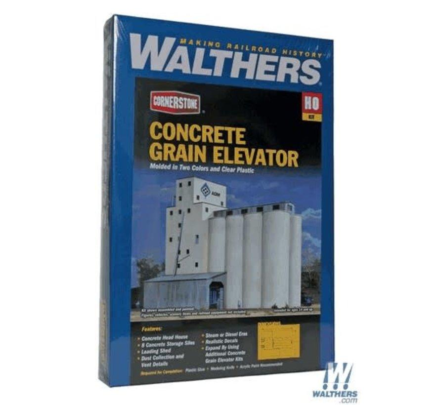 Walthers : HO ADM Grain Elevator Kit