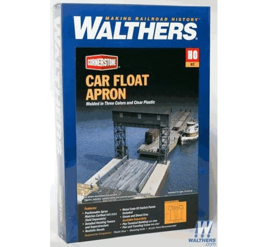 Walthers : HO Carfloat Apron Kit