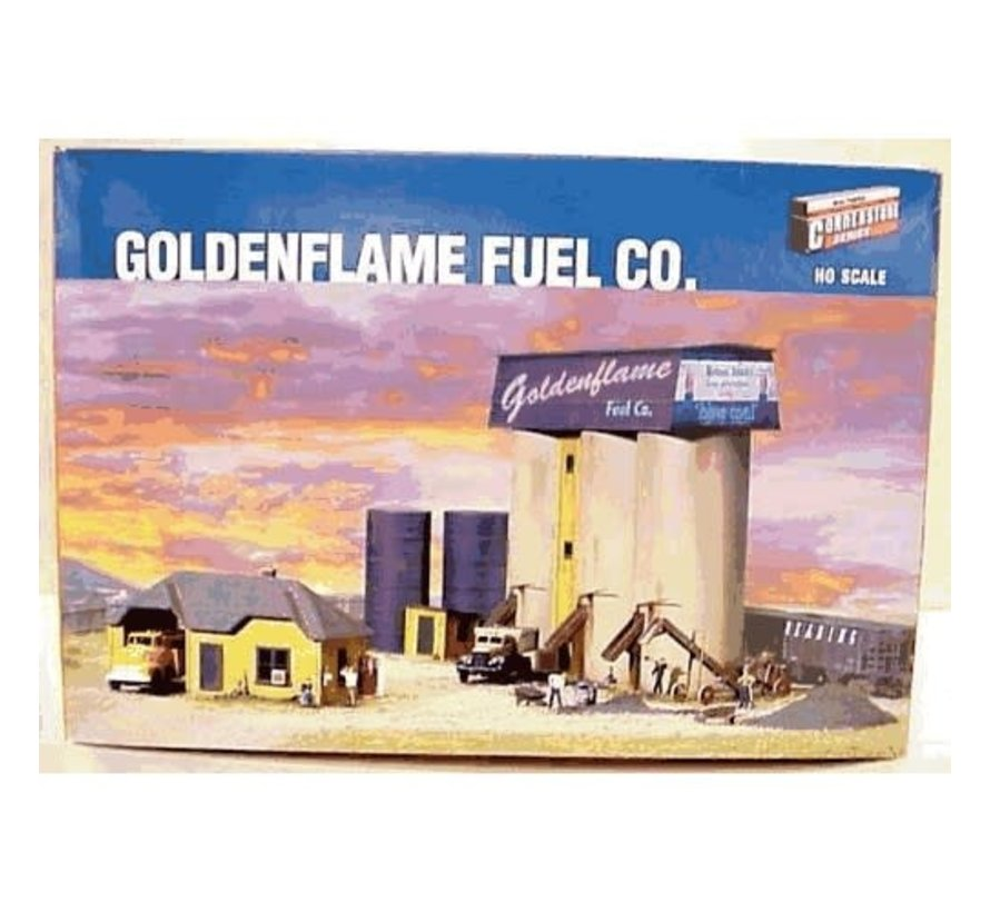 Walthers : HO Goldenflame Fuel Co. Kit