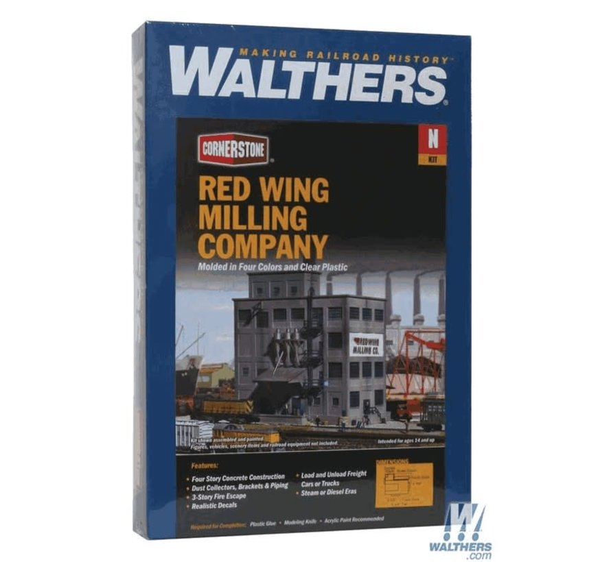 Walthers : N Red Wing Milling Co. Kit