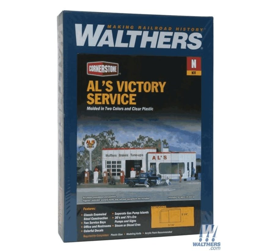 Walthers : N Al's Victory Service Kit