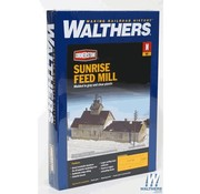 WALTHERS WALT-933-3239 - Walthers : N Sunrise Feed Mill N
