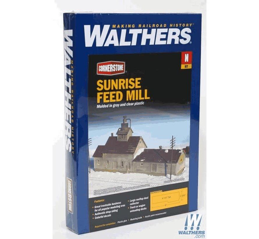 Walthers : N Sunrise Feed Mill N