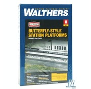 WALTHERS WALT-933-3258 - Walthers : N Butterfly Pltfrm Shltr 8/