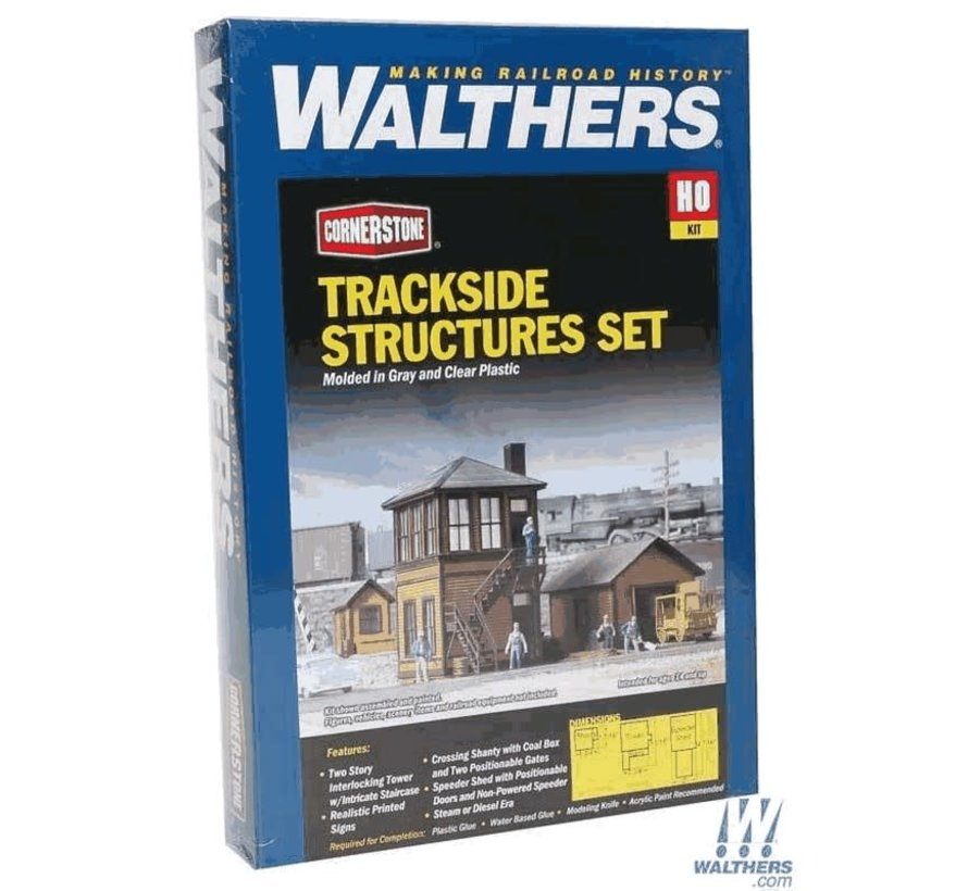 Walthers : HO Trackside Structures Kit