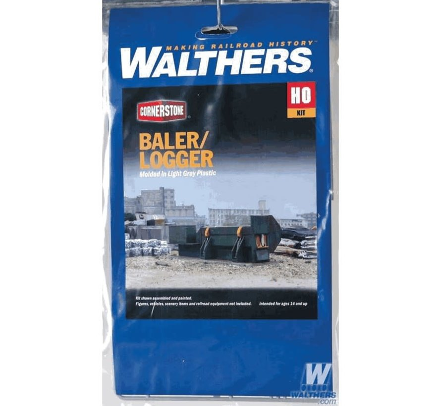Walthers : HO Horizontal Baler/Logger
