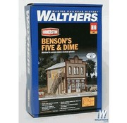 WALTHERS WALT-933-3661 - Walthers : HO Benson's Five and Dime