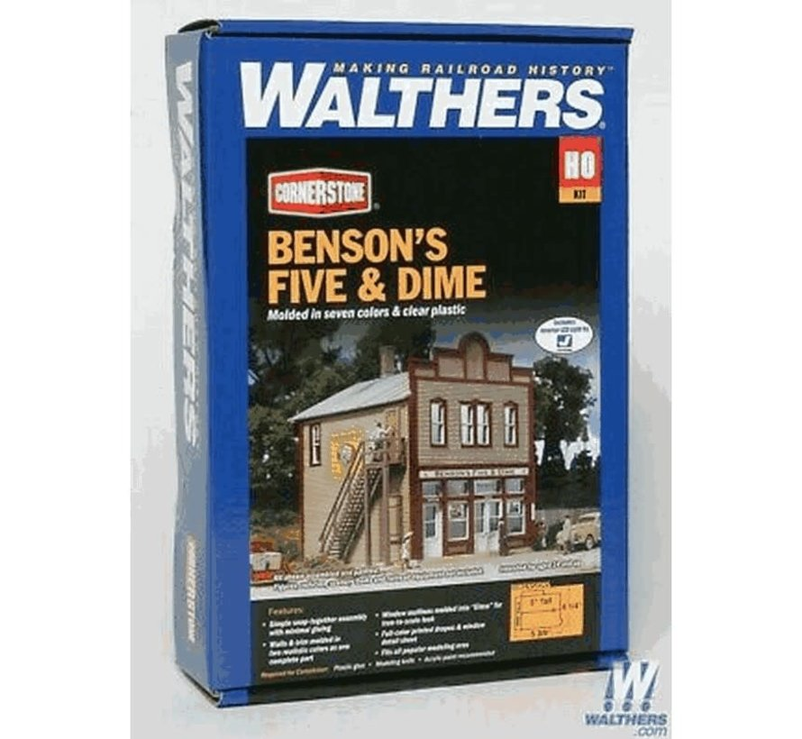 Walthers : HO Benson's Five and Dime