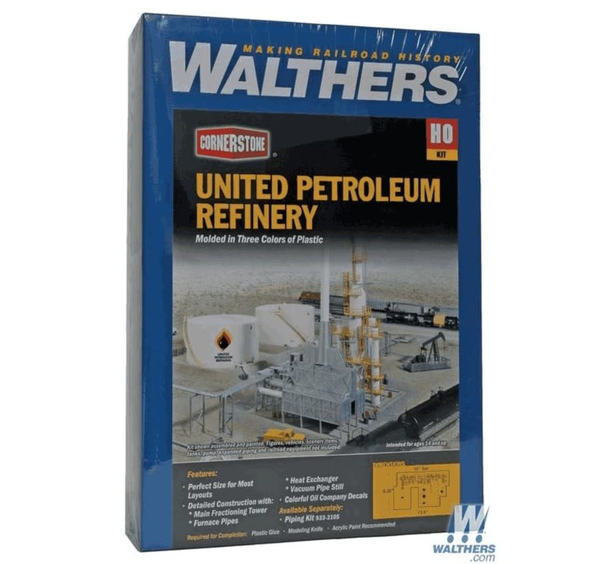 Walthers : HO United Petroleum Refining