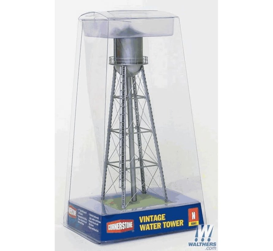 Walthers : N Vintage Water Tower Slv