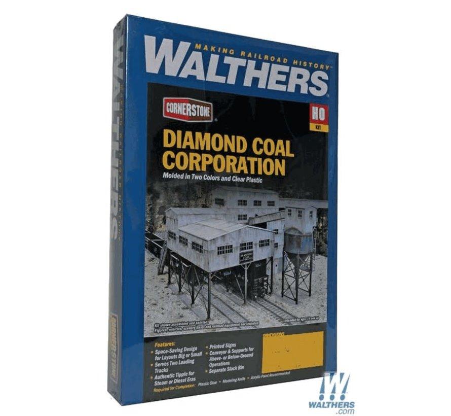 Walthers : HO Diamond Coal Corp. Kit