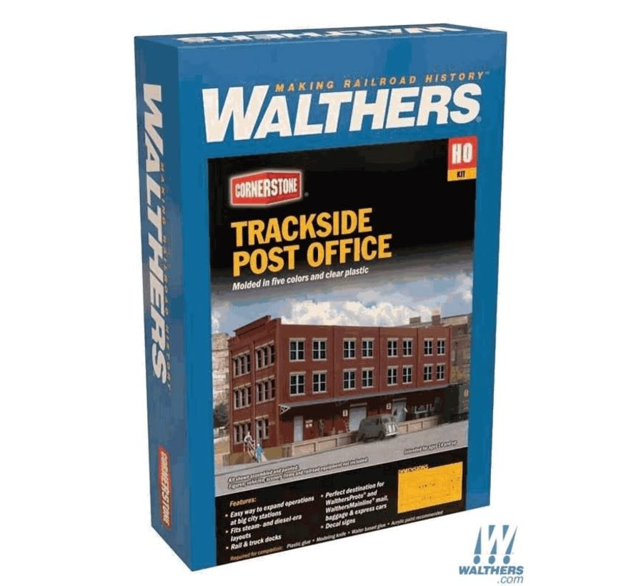 Walthers : HO Trackside Post Office Kit
