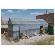 WALTHERS WALT-933-4101 - Walthers : HO Brickworks Storage Bldg