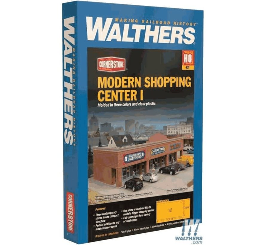 Walthers : HO Modern Shopping Center I