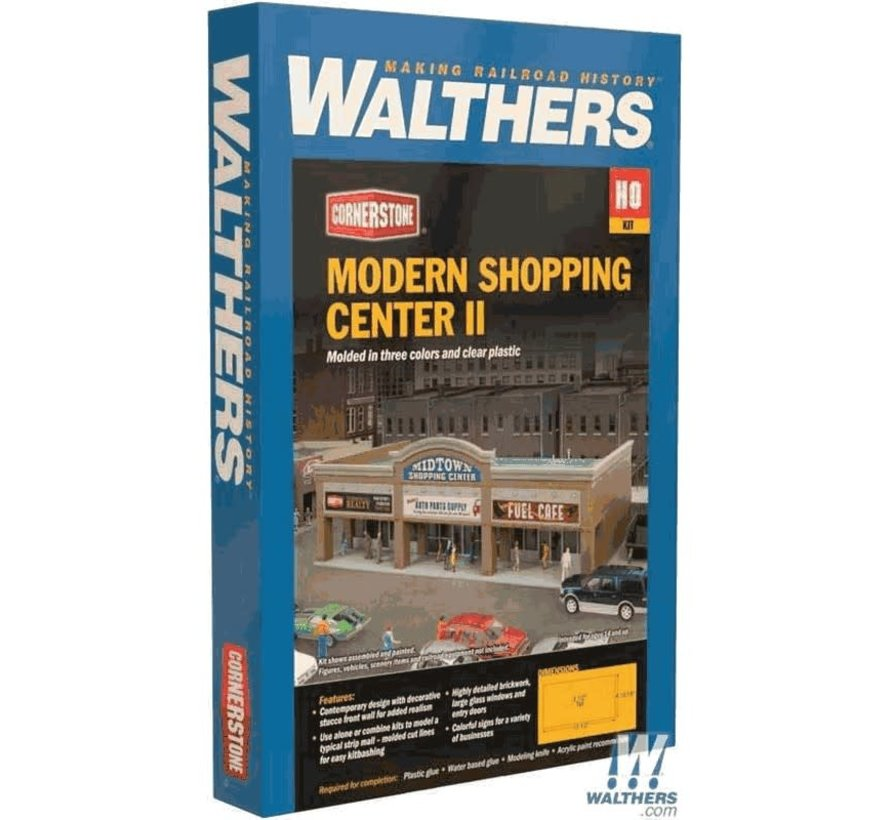 Walthers : HO Modern Shopping Center II