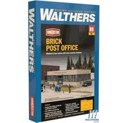 WALTHERS WALT-933-4200 - Walthers : HO Brick Post Office