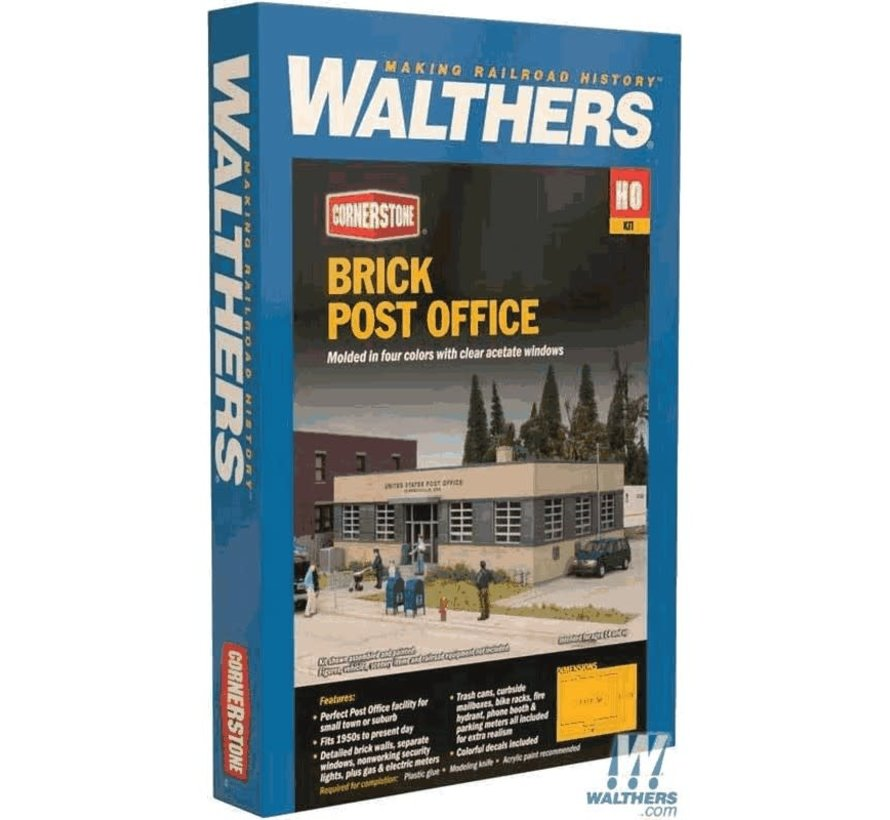 Walthers : HO Brick Post Office