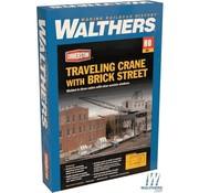 WALTHERS WALT-933-4096 - Walthers : HO Trvlg Crane w/Brick Strt
