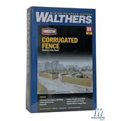 WALTHERS WALT-933-3632 - Walthers : HO Corrugated Fence Scl 240'