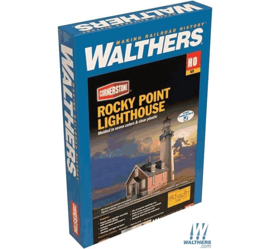 Walthers : HO Rocky Lighthouse