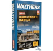 WALTHERS WALT-933-4560 - Walthers : HO Urban Overpass Concrete