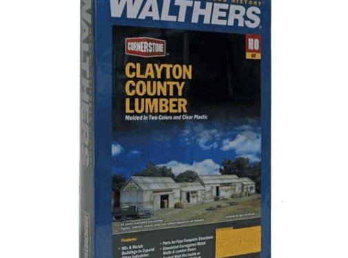 WALTHERS WALT-933-2911 - Walthers : HO Clayton Country Lumber