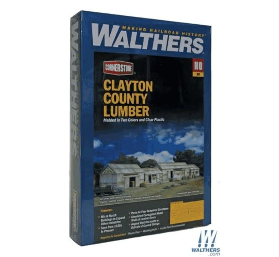 Walthers : HO Clayton Country Lumber