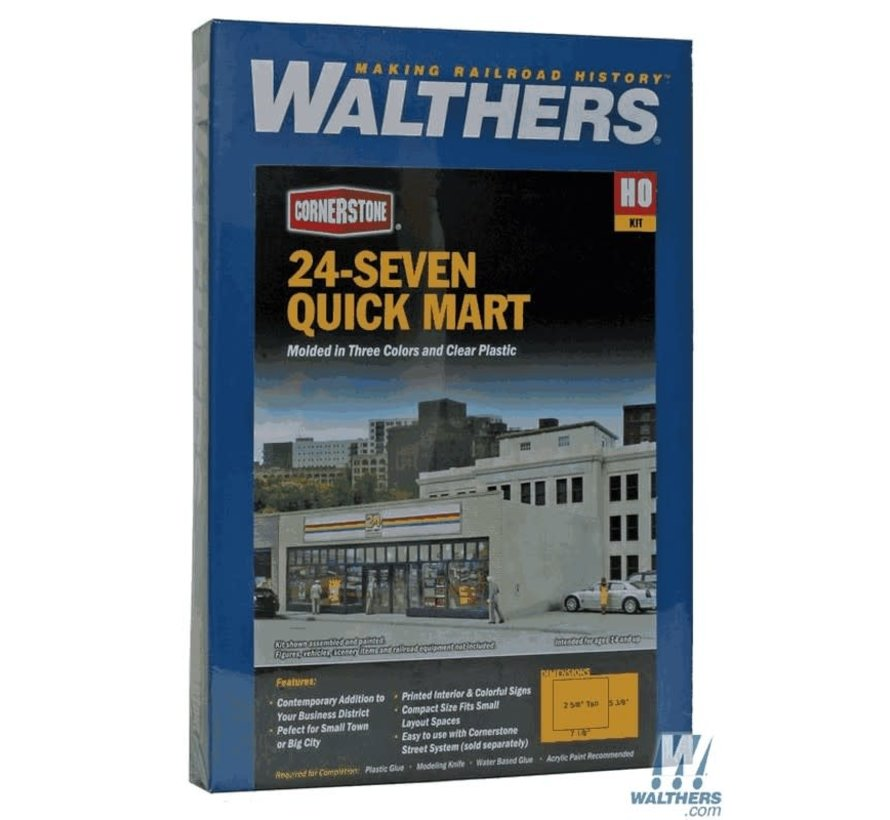 Walthers : HO 24-seven Mart Kit