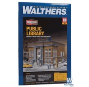 WALTHERS WALT-933-3493 - Walthers : HO Public Library Kit