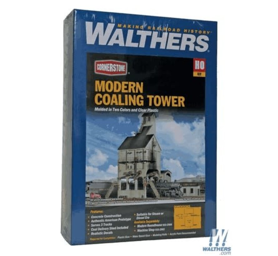 Walthers : HO Modern Coaling Tower Kit