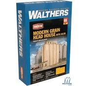 WALTHERS WALT-933-2942 - Walthers : HO Head House w/Silos Modern