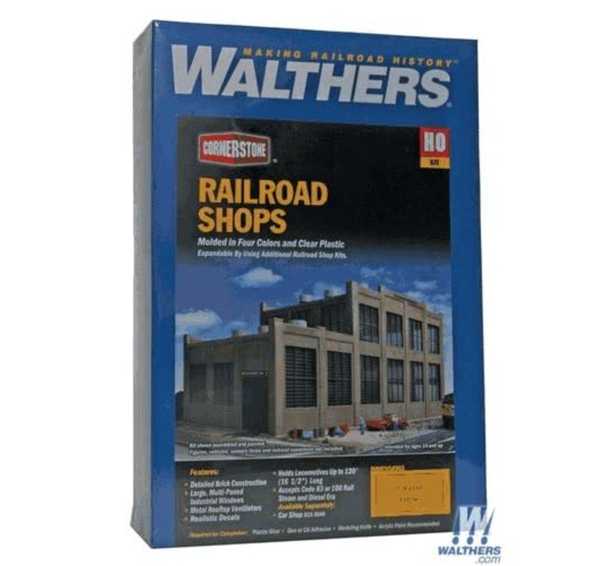 Walthers : HO Railroad Shop Kit