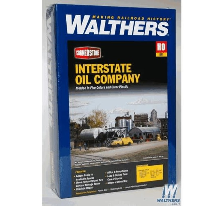 Walthers : HO Interstate Fuel & Oil Co.